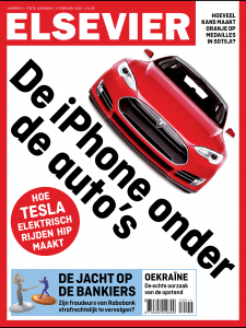Elsevier Tesla cover